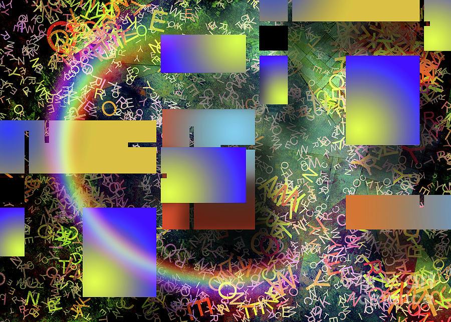 Modern Abstract Digital Art