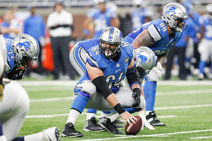 NFL: OCT 16 Rams at Lions Photograph by Icon Sportswire