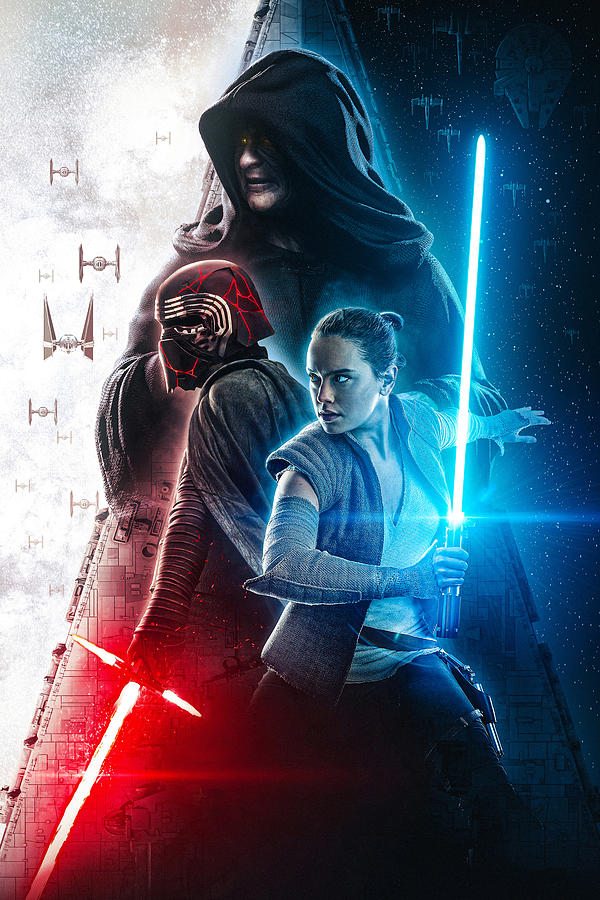 Star Wars The Rise Of Skywalker 2019 Digital Art By Geek N Rock