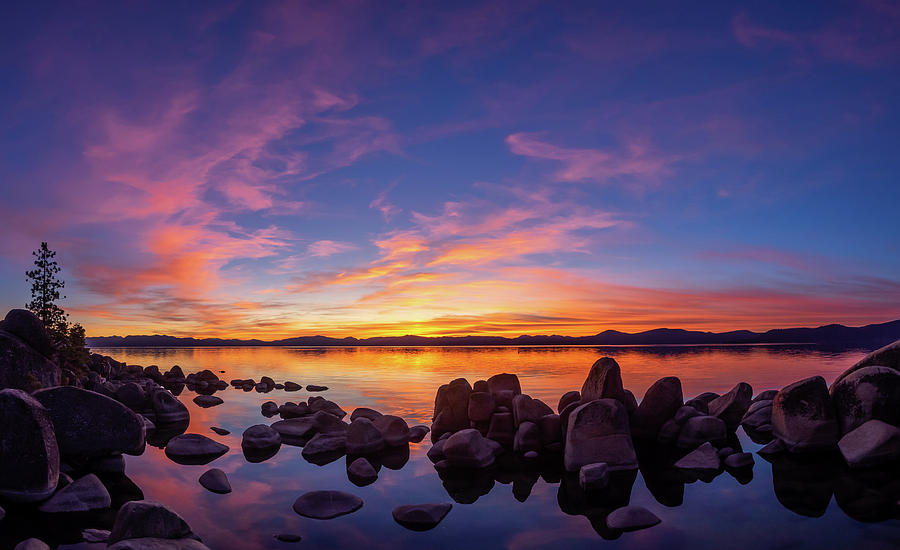 Tahoe Sunset by Martin Gollery