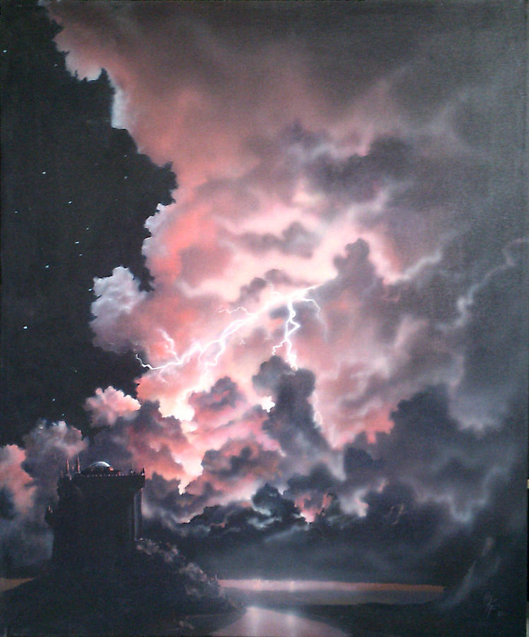 Castle Painting - Untitled 6 by Philip Fleischer