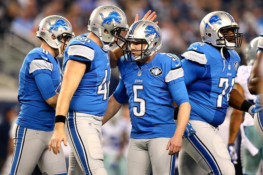 Wild Card Playoffs - Detroit Lions v Dallas Cowboys Photograph by Ronald Martinez