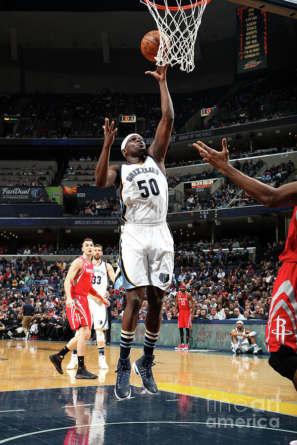 Zach Randolph Photograph by Joe Murphy