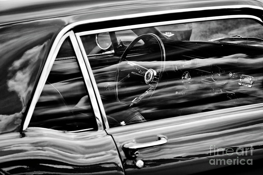 65 Ford Mustang Monochrome by Tim Gainey