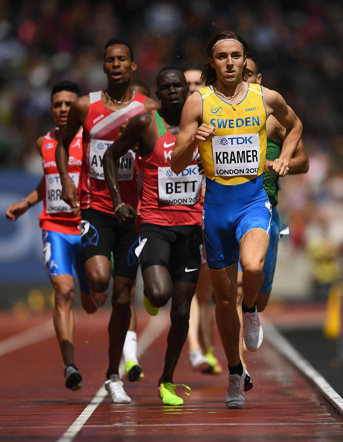 16th IAAF World Athletics Championships London 2017 - Day Two Photograph by Matthias Hangst