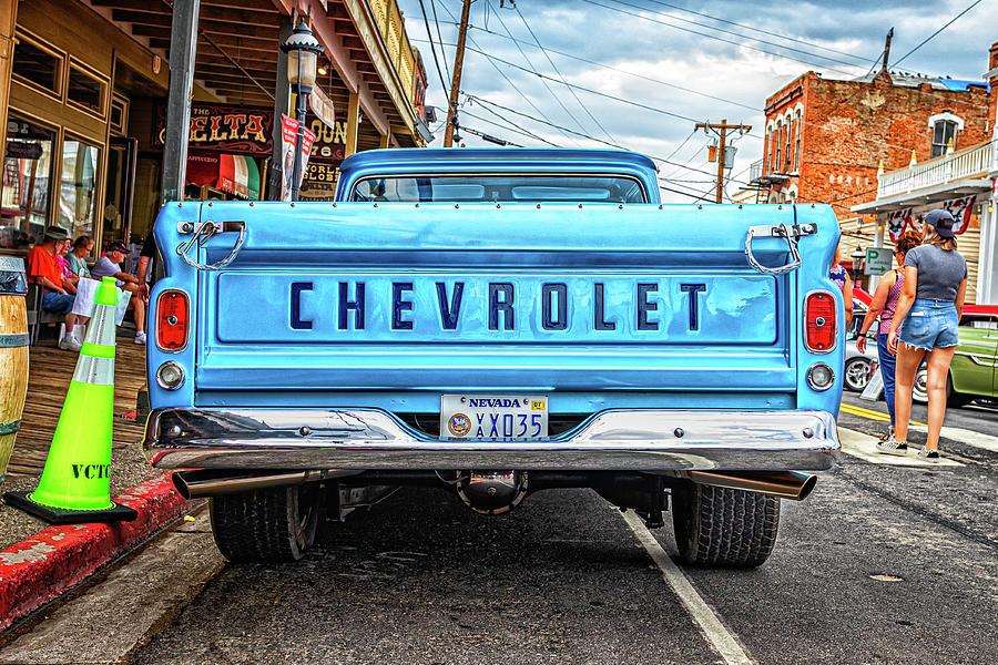1961 Chevrolet Apache C10 Fleetside Pickup Truck Photograph