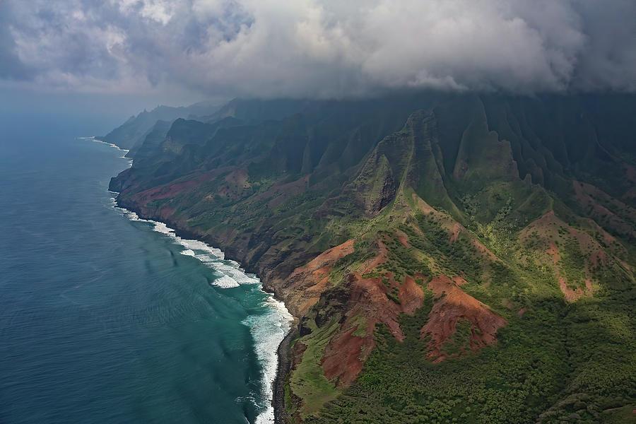 Aerial Kauai by Steven Lapkin