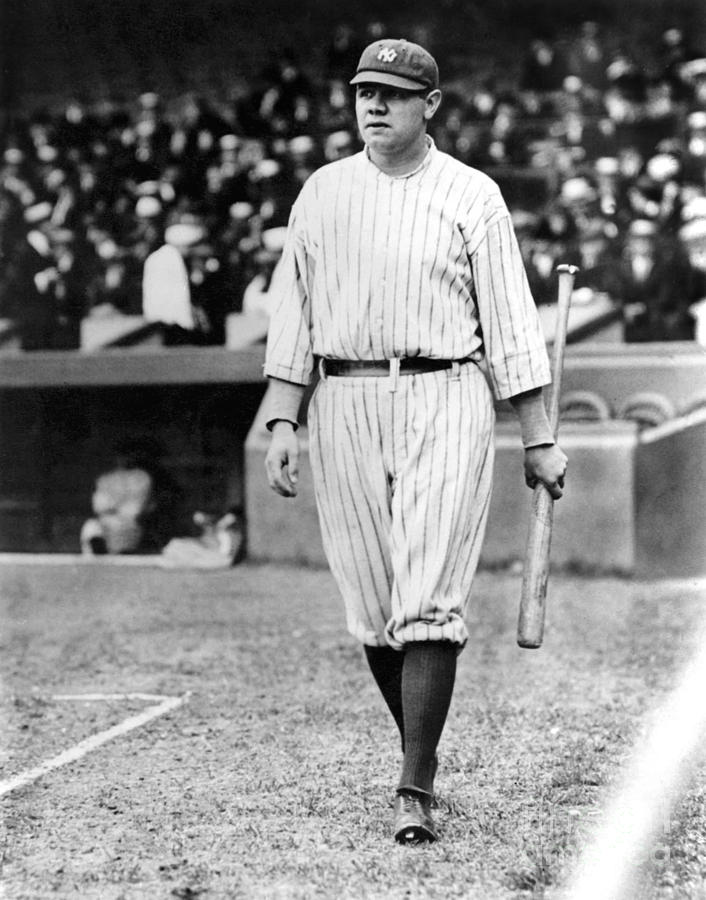 Babe Ruth Photograph by National Baseball Hall Of Fame Library