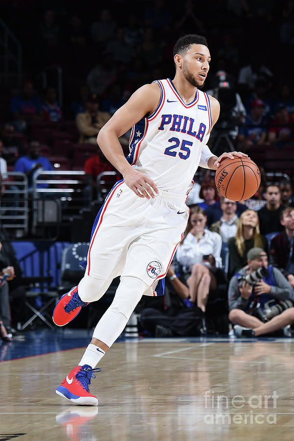 Ben Simmons Photograph by Brian Babineau