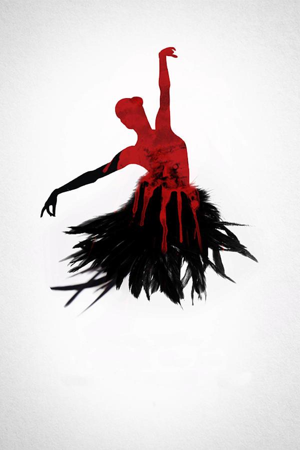 Black Swan 2010 Digital Art By Geek N Rock