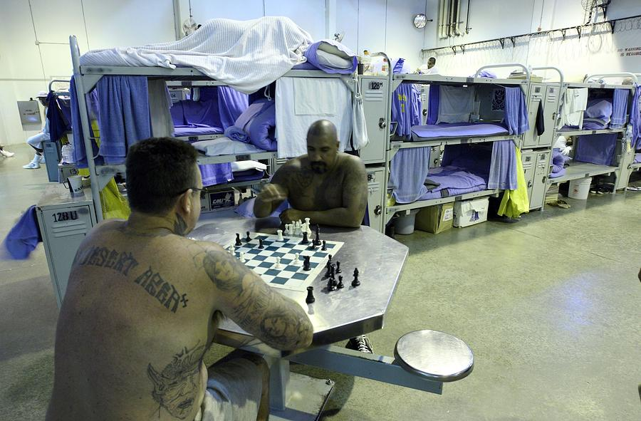 California State Prisons Face Overcrowding Issues Photograph by Justin Sullivan