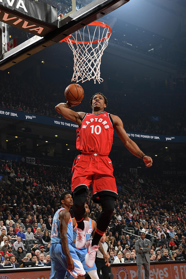 Demar Derozan Photograph by Ron Turenne