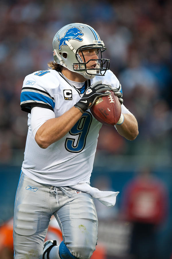 Detroit Lions v Chicago Bears Photograph by Rob Tringali