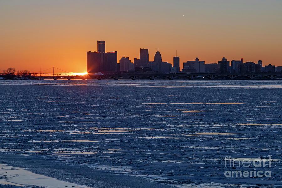 Detroit Winter Photograph