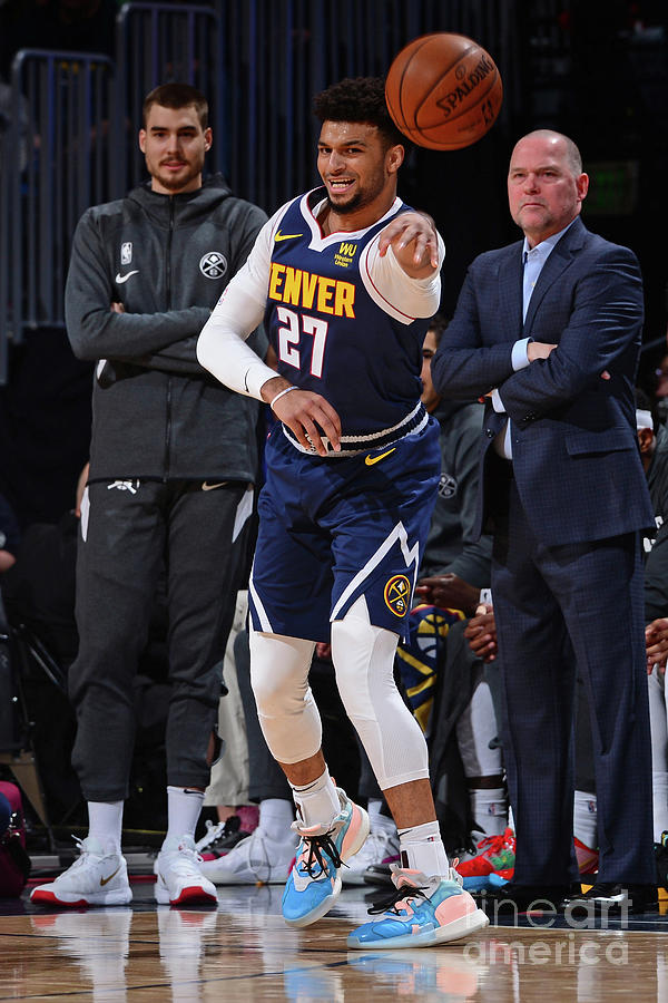 Jamal Murray Photograph by Bart Young