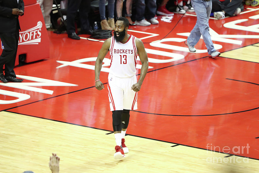 James Harden Photograph by Nathaniel S. Butler