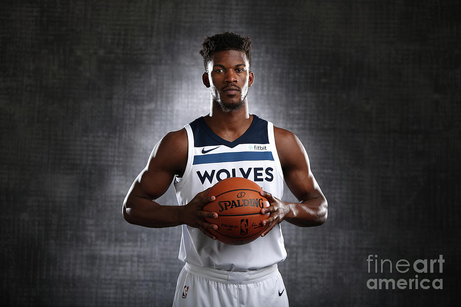 Jimmy Butler Photograph by David Sherman