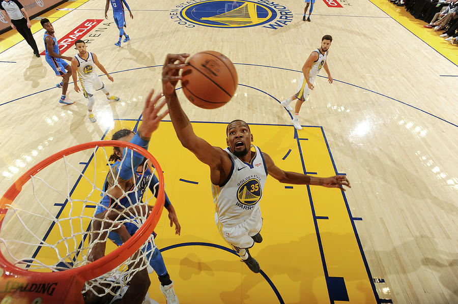 Kevin Durant Photograph by Andrew D. Bernstein