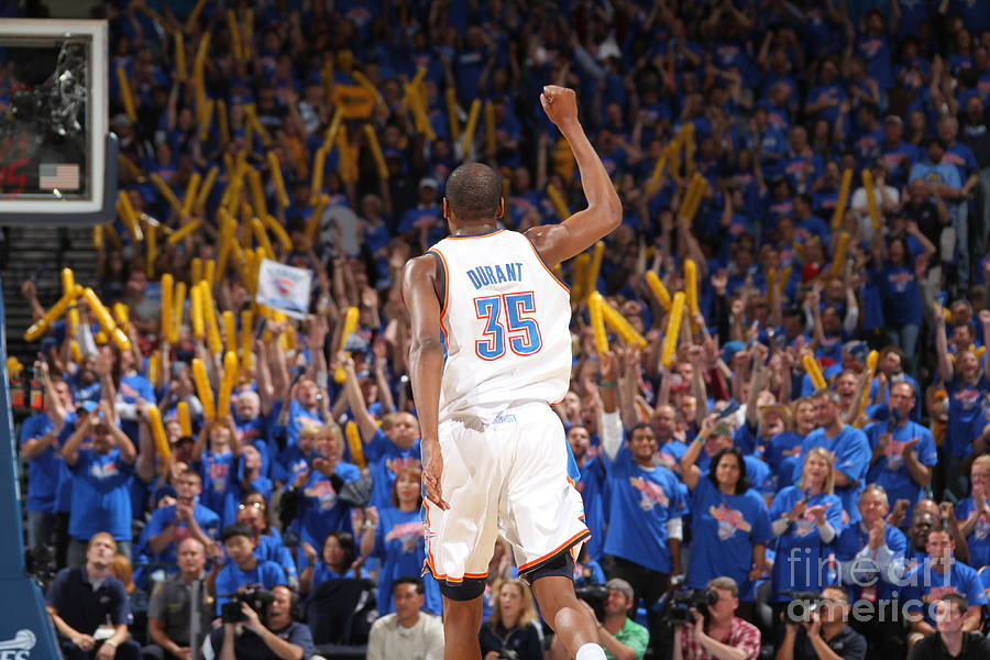 Kevin Durant Photograph by Joe Murphy