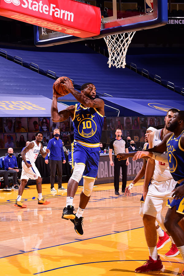 LA Clippers v Golden State Warriors Photograph by Noah Graham