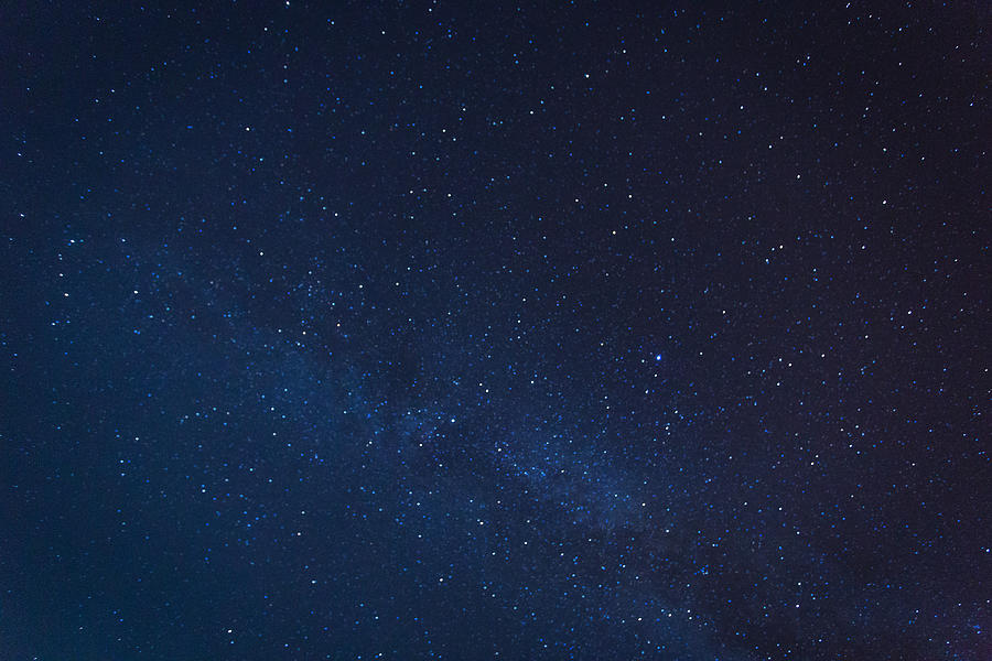 Milky way galaxy with stars and space dust in the universe Photograph by Pakin Songmor