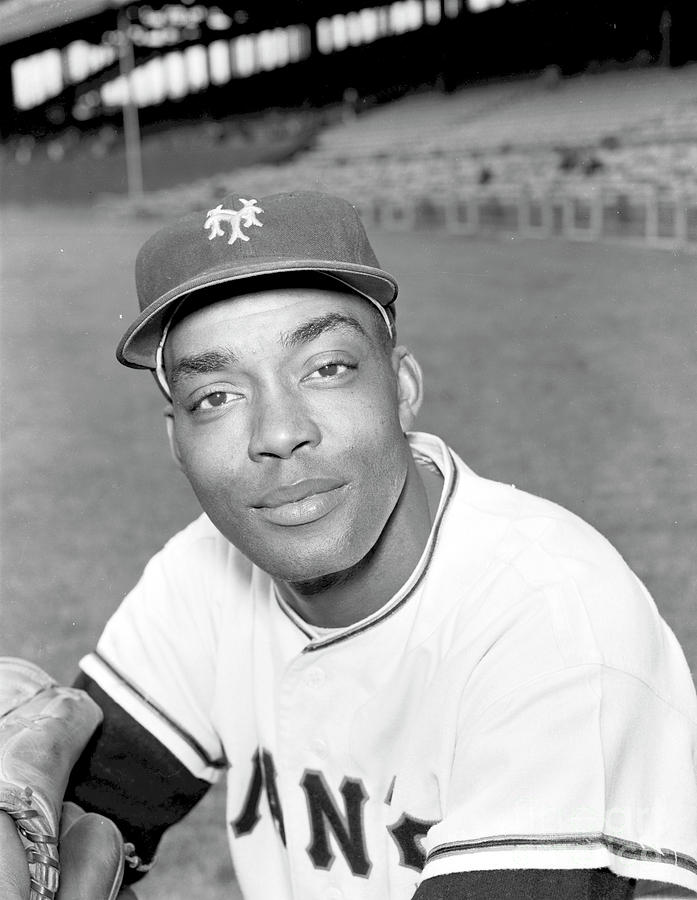 Monte Irvin Photograph by Kidwiler Collection