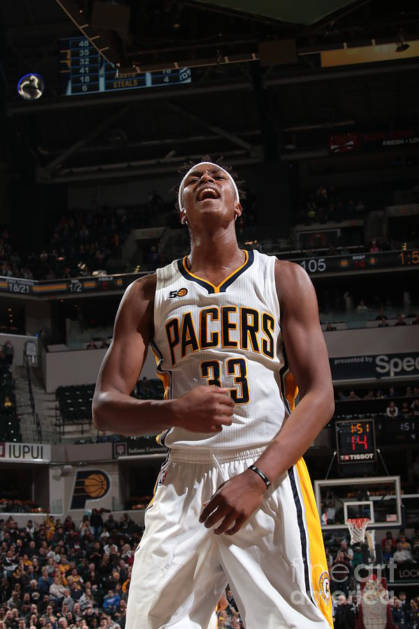 Myles Turner Photograph by Ron Hoskins