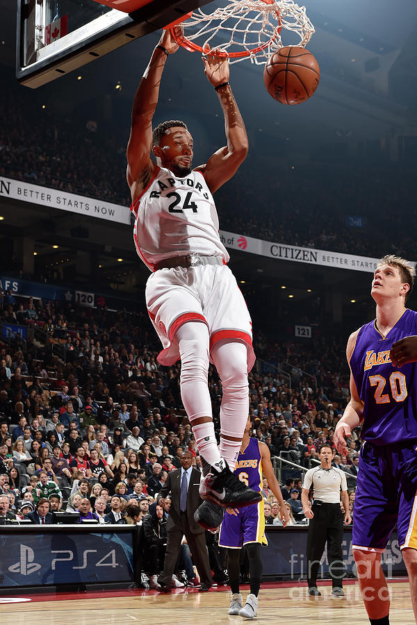 Norman Powell Photograph by Ron Turenne