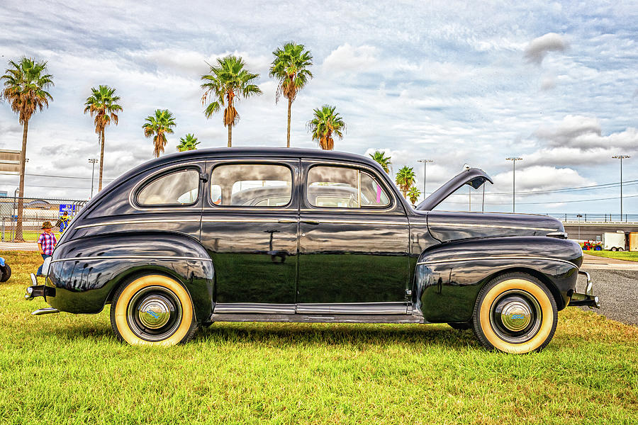 1941 Ford Super Deluxe Sedan Photograph