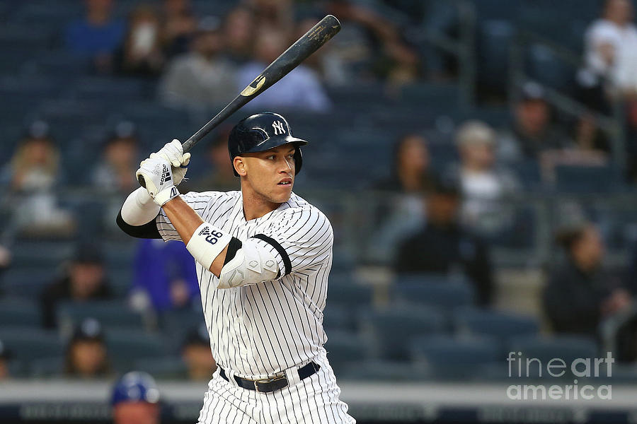 Aaron Judge Photograph by Mike Stobe