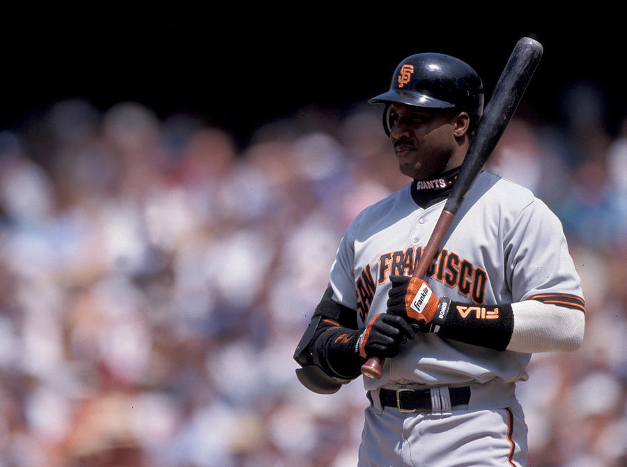 Barry Bonds Photograph by Kirby Lee