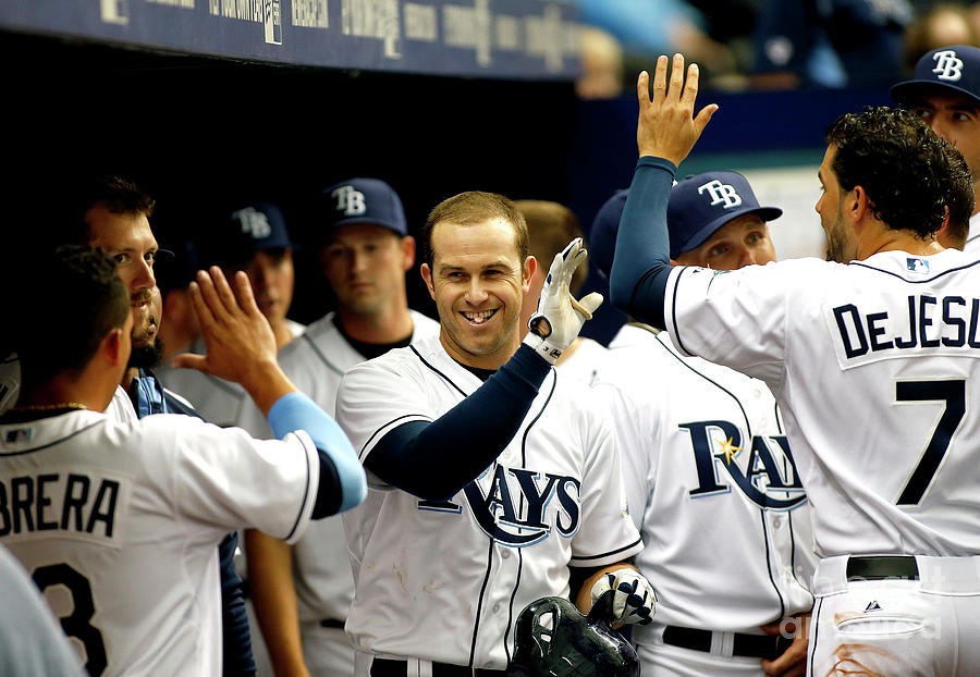 Evan Longoria Photograph by Brian Blanco
