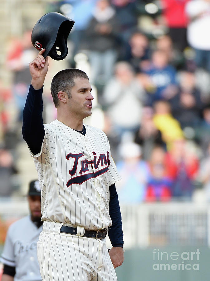 Joe Mauer Photograph by Hannah Foslien