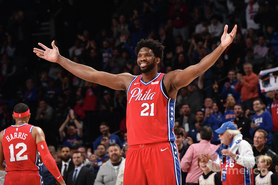 Joel Embiid Photograph by David Dow