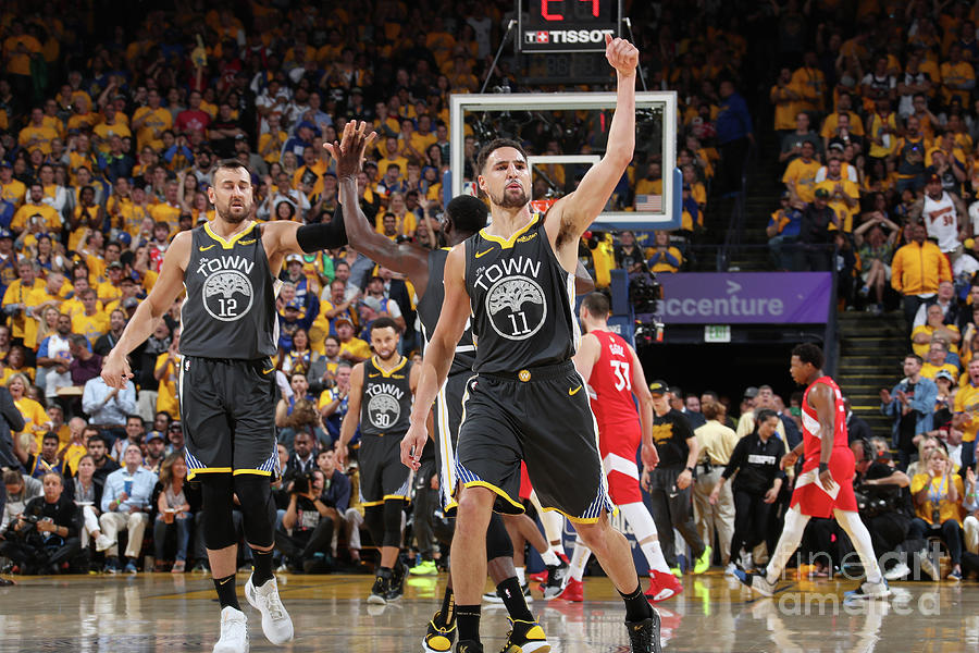 Klay Thompson Photograph by Nathaniel S. Butler