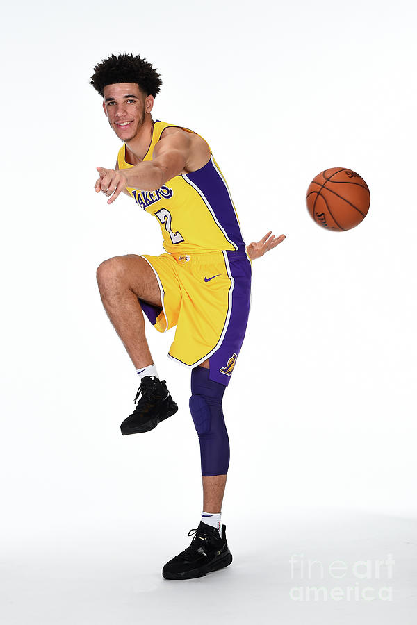Lonzo Ball Photograph by Andrew D. Bernstein