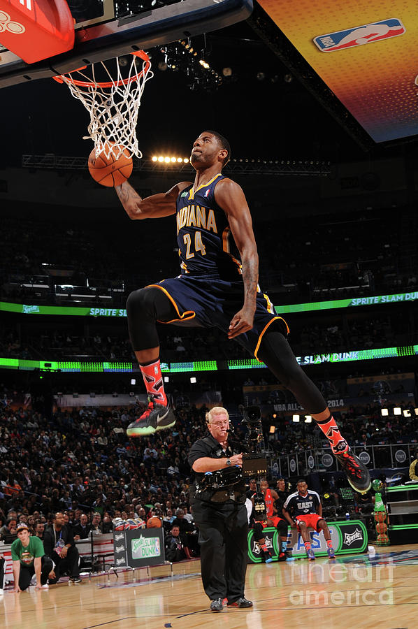 Paul George Photograph by Andrew D. Bernstein