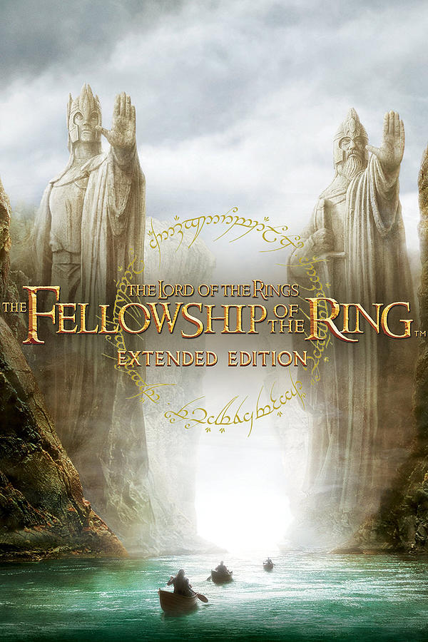 The Lord Of The Rings The Fellowship Of The Ring 2001 Digital Art By Geek N Rock