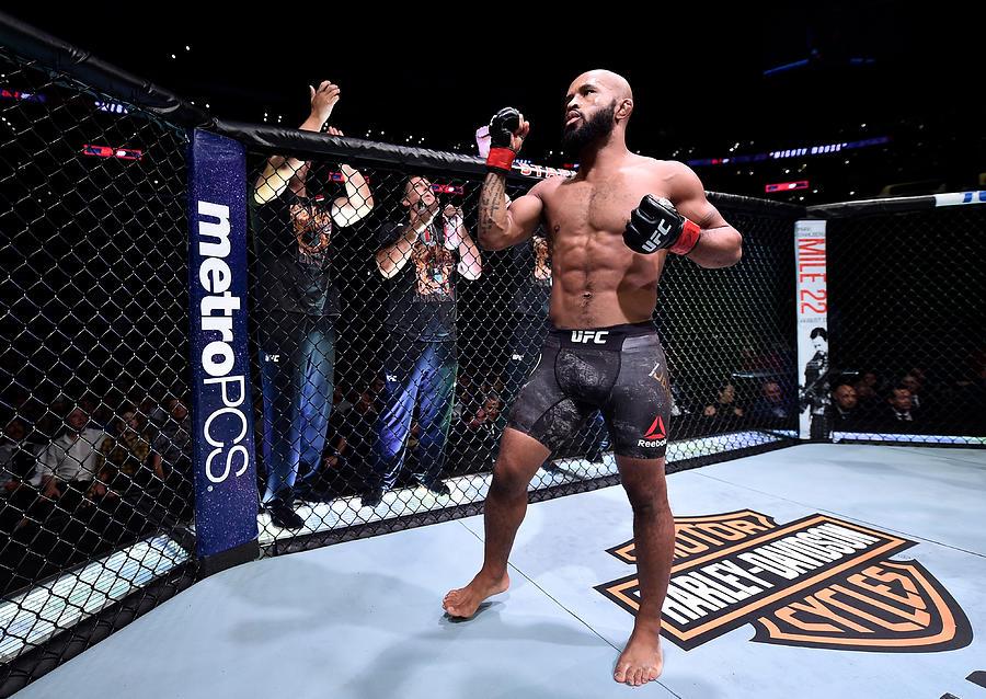 UFC 227: Johnson v Cejudo 2 Photograph by Jeff Bottari