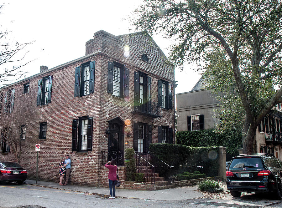 Architecture Photograph - 80 Church Street - Charleston by Norman Johnson
