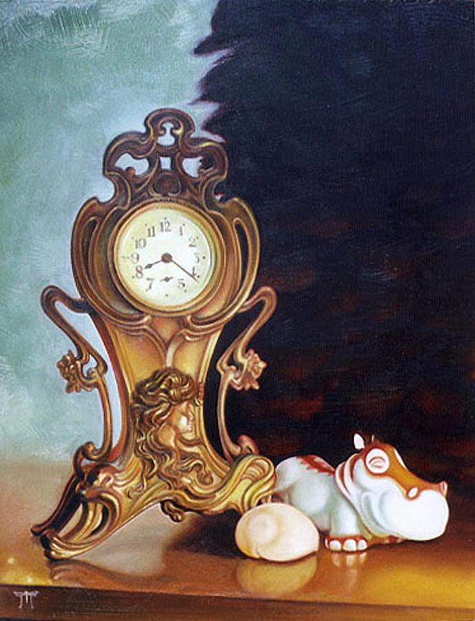 821 Painting by Melanie Stimmell Van Latum