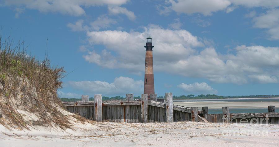 Folly Beach - Morris Island Lighthouse - Charleston Sc Lowcountry8247 Photograph