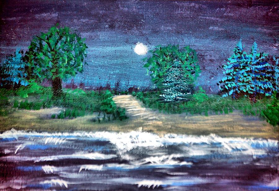 #85 Back Beach Painting