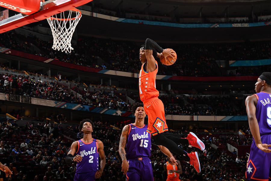 2020 NBA All-Star - Rising Stars Game Photograph by Jesse D. Garrabrant