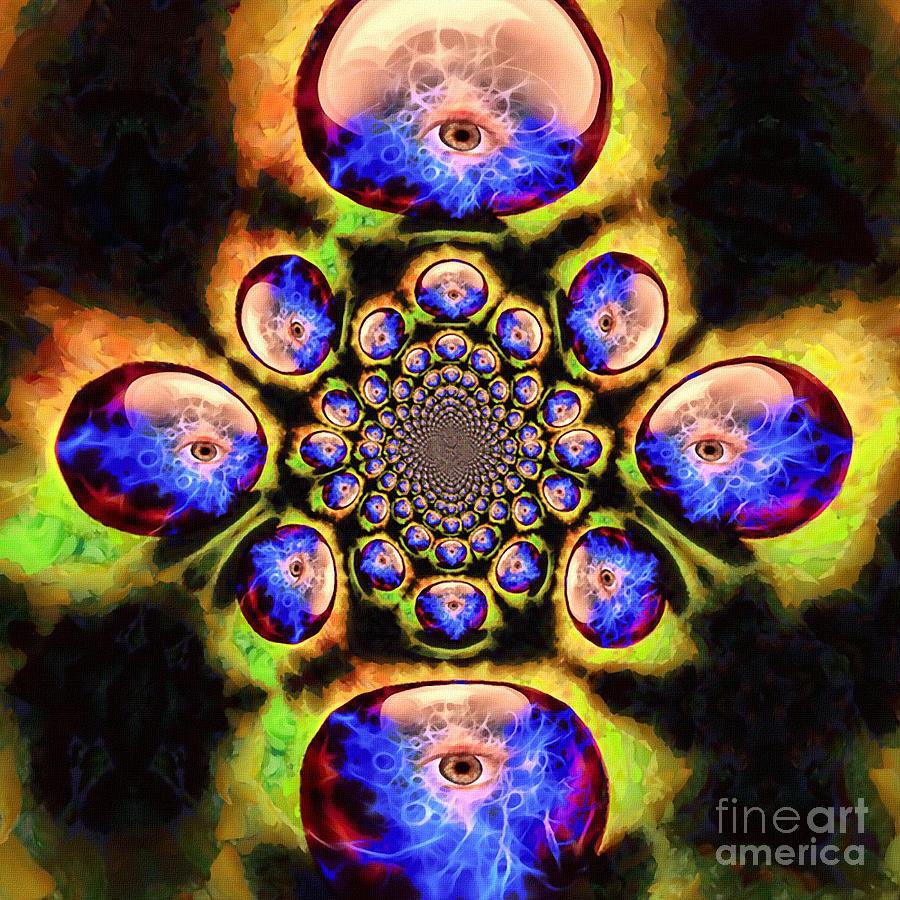 All Seeing Eye Digital Art