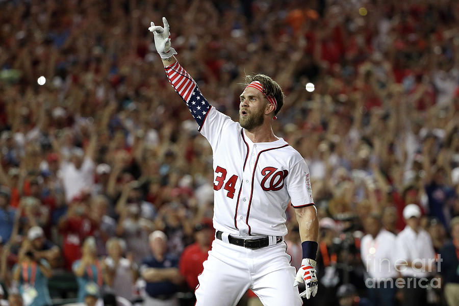 Bryce Harper Photograph by Patrick Smith