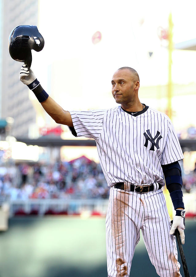 Derek Jeter Photograph by Elsa
