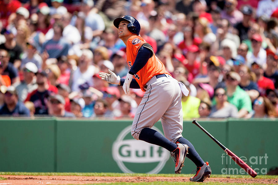 George Springer Photograph by Billie Weiss/boston Red Sox