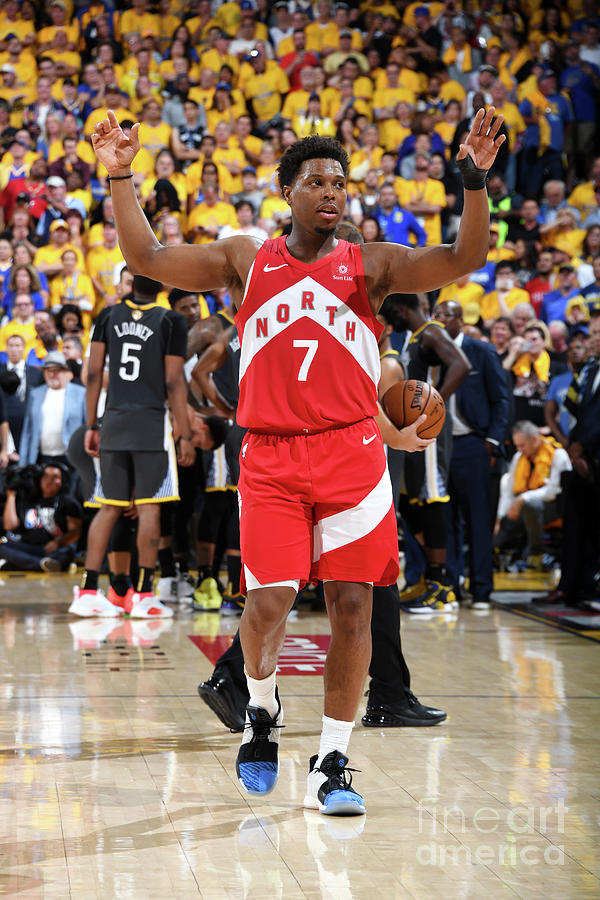 Kyle Lowry Photograph by Andrew D. Bernstein
