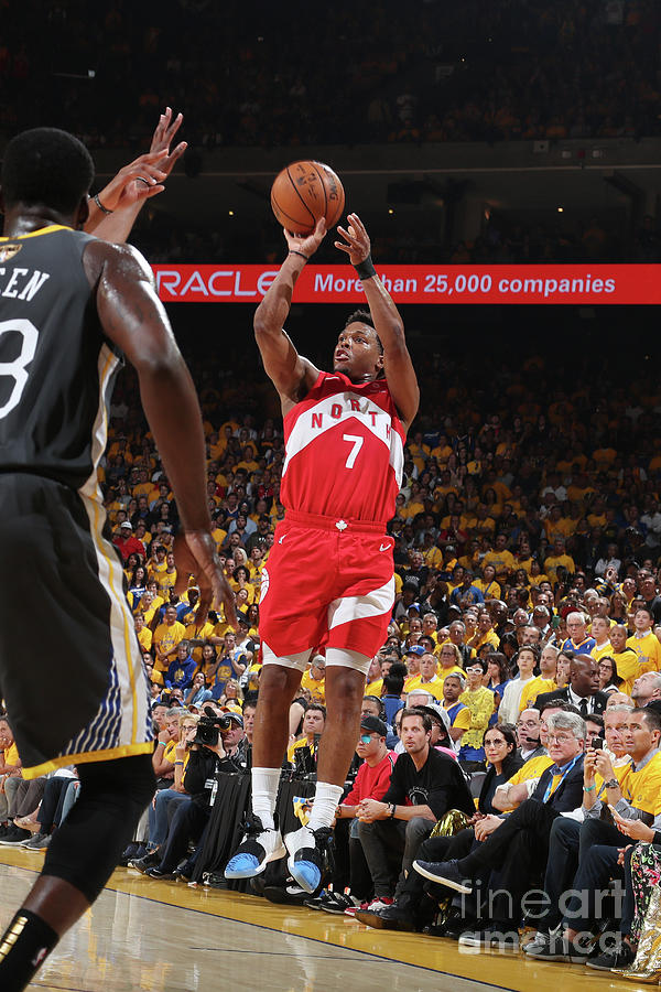 Kyle Lowry Photograph by Nathaniel S. Butler